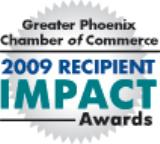 2009 Impact Award - Drive. Passion. Commitment.